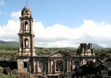 San Juan Parangaricutiro immagini stock libere da diritti