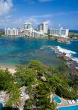 San Juan Porto Rico (Ariel) Fotografie Stock