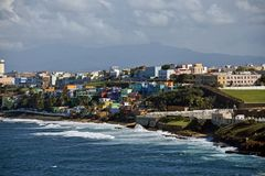 San Juan, Puerto Rico stock photography