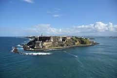 San juan puerto rico zdjęcie stock