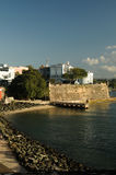 San juan, puerto rico. Buildings by in the bay in san juan, capital of puerto rico Stock Photos