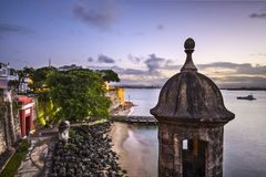 San Juan, Puerto Rico Coast Royalty Free Stock Photo