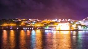 San Juan, Puerto Rico coastline stock video footage