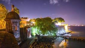 San Juan, Puerto Rico coastline stock video