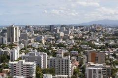 San Juan Puerto Rico. Downtown San Juan Puerto Rico aerial Stock Photos