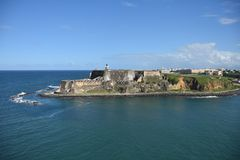 San Juan Puerto Rico royalty free stock photos