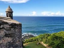 San Juan Puerto Rico historiskt fort San Felipe Del Morro Royaltyfri Foto