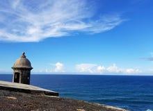 San Juan, Puerto Rico historyczny fort San Felipe Del Morro Obraz Royalty Free