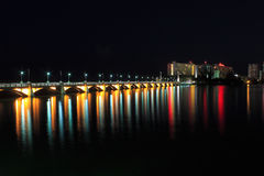 San Juan Puerto Rico at night Royalty Free Stock Photography