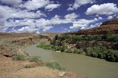 San Juan River stock foto's