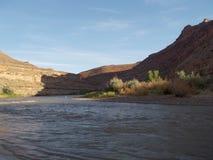 San Juan River Kayaking Photo stock