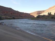 San Juan River Kayaking Stock Photography