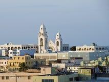 San Juan rooftops. Royalty Free Stock Image