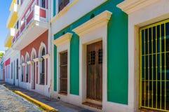 San Juan Row Imágenes de archivo libres de regalías