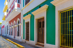 San Juan Row Royalty Free Stock Images