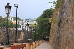 San Juan's Paseo de la Princesa Royalty Free Stock Images