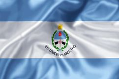 San Juan. Waving and closeup flag illustration. Perfect for background or texture purposes stock photos