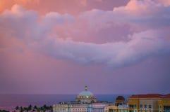 San Juan Sky Stock Image