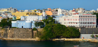 San Juan Skyline Royalty Free Stock Image