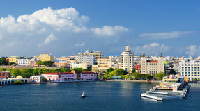 San Juan Skyline Royalty Free Stock Photos