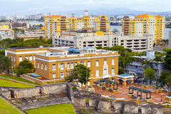 San Juan Skyline Arkivfoton