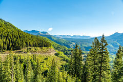 San Juan Skyway image stock