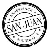San Juan stamp. Grunge design with dust scratches. Effects can be easily removed for a clean, crisp look. Color is easily changed Stock Photos