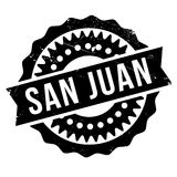 San Juan stamp. Grunge design with dust scratches. Effects can be easily removed for a clean, crisp look. Color is easily changed Royalty Free Stock Photos