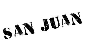San Juan stamp. Grunge design with dust scratches. Effects can be easily removed for a clean, crisp look. Color is easily changed Royalty Free Stock Photo