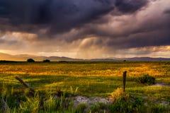 San Juan Storms image stock