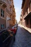 San Juan Street Stock Photo