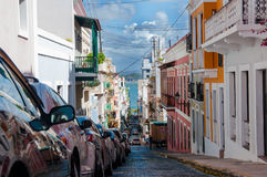 San Juan Street royalty-vrije stock foto's