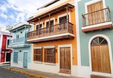 San Juan Streets photographie stock