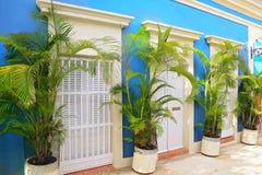 San Juan streets on a bright sunny day. Puerto Rico, San Juan streets on a bright sunny stock image