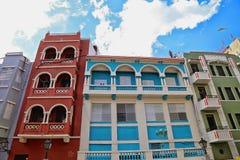 San Juan streets. Puerto Rico San Juan Streets stock photos