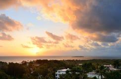 San Juan sunrise Royalty Free Stock Photography