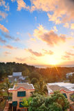 San Juan sunrise Stock Photo