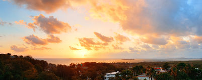 San Juan sunrise Stock Photography