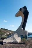 SAN JUAN, TENERIFE/SPAIN - JANUARY 18, 2015 : Alcaravan sculptur Stock Photo