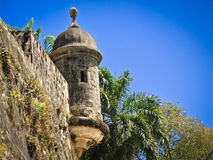 San Juan turret Stock Images