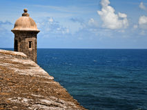 San Juan turret Stock Photography