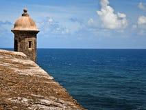 San Juan turret Stock Photography