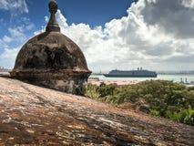San Juan turret Stock Photo