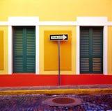 San Juan unidirezionale Fotografia Stock