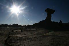 San Juan, valle de la luna, abril de 2007 imágenes de archivo libres de regalías