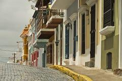 San Juan velho, Puerto Rico Fotografia de Stock