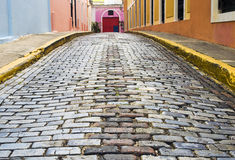 San Juan viejo, Puerto Rico fotografía de archivo libre de regalías