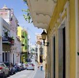 San Juan viejo Puerto Rico Imagen de archivo libre de regalías