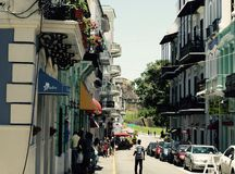 San Juan viejo Puerto Rico Imagen de archivo
