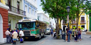 San Juan viejo Puerto Rico Fotos de archivo libres de regalías